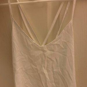 Hollister white tank top